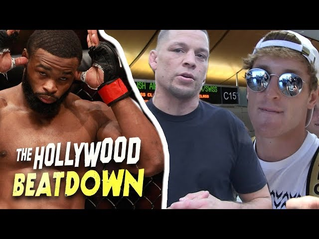 Tyron Woodley Says Logan Paul Could Have A Shot In The UFC | The Hollywood Beatdown