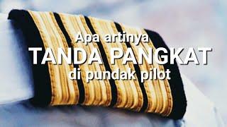 Apa Arti TANDA PANGKAT Di Pundak Pilot - TANYA PILOT