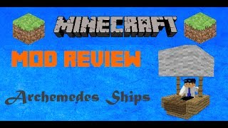 Minecraft Mod Review: Archimedes