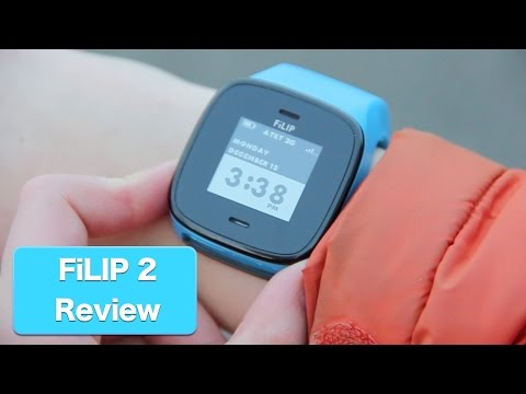 FiLIP 2 , Wearable Phone, Smart Locator and Watch For Kids