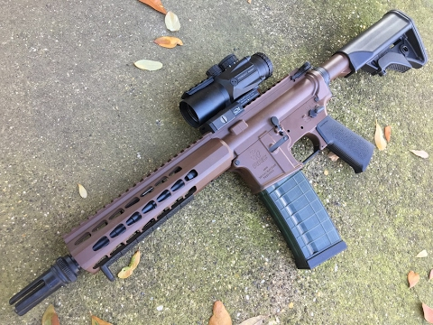 AAC Square Drop rail review and assembly