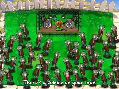 растения против зомби видео клип