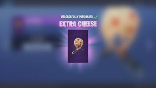 Spending 1,200 V-Bucks NEW EPIC 'EXTRA CHEESE' Glider (Fortnite)