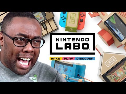 NINTENDO LABO & Wii U Ports on Nintendo Switch - Black Nerd RANTS