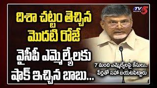 Chandrababu Reveals YSRCP MLA List   Disha Act in Andhra Pradesh   Disha Bill   AP News