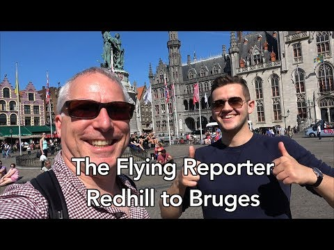 Redhill to Bruges (via Ostend) in my PA28