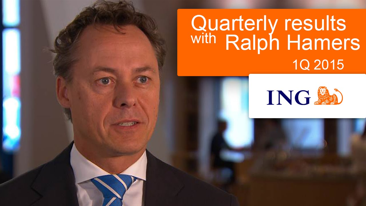 ING CEO Ralph Hamers on ING's 1Q15 results (subtitles ...