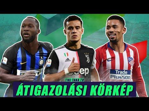 A Juve is vinné Coutinhót! Gabriel Jesus az Atléticóban? Lukaku az Interben? | Átigazolási körkép