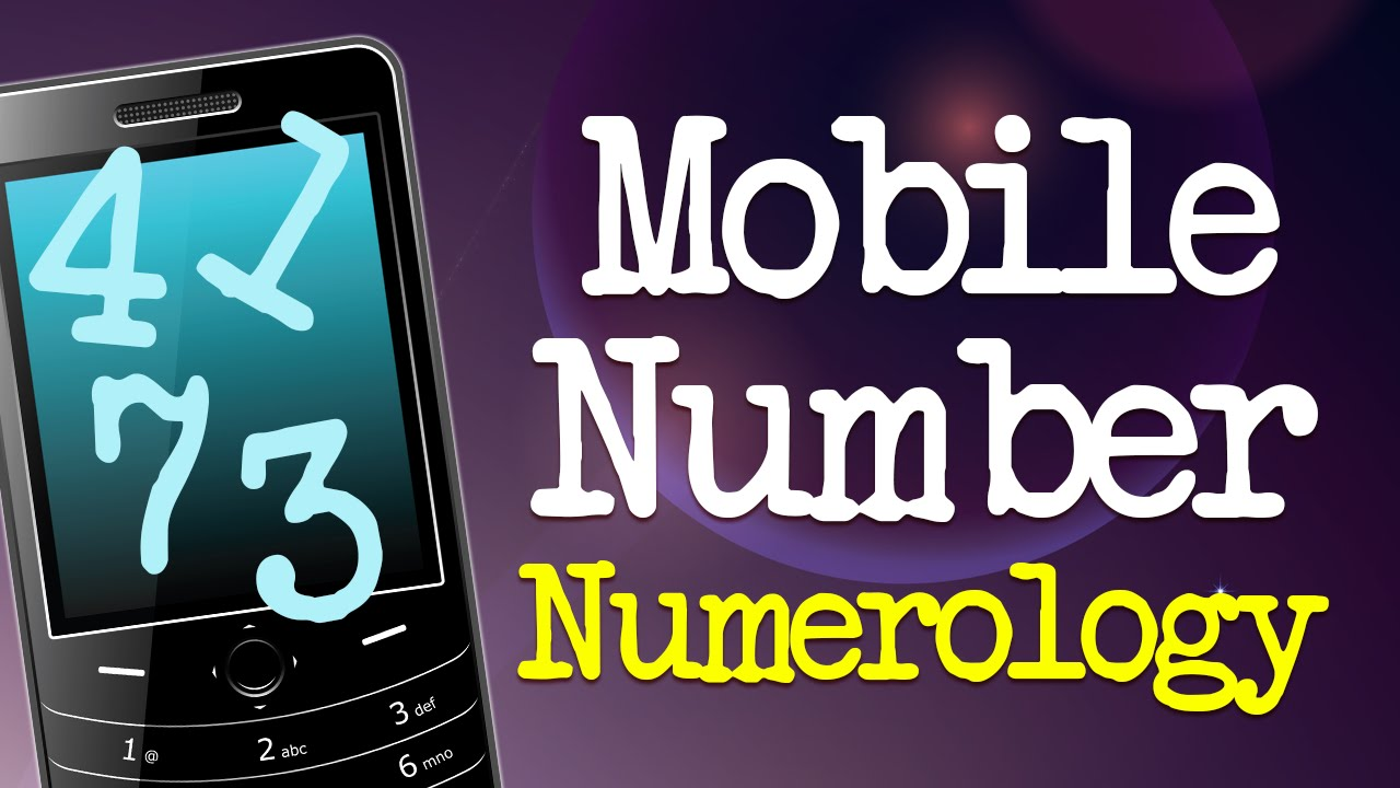 7c7f6173e Lucky Mobile Number Numerology Guide - YouTube