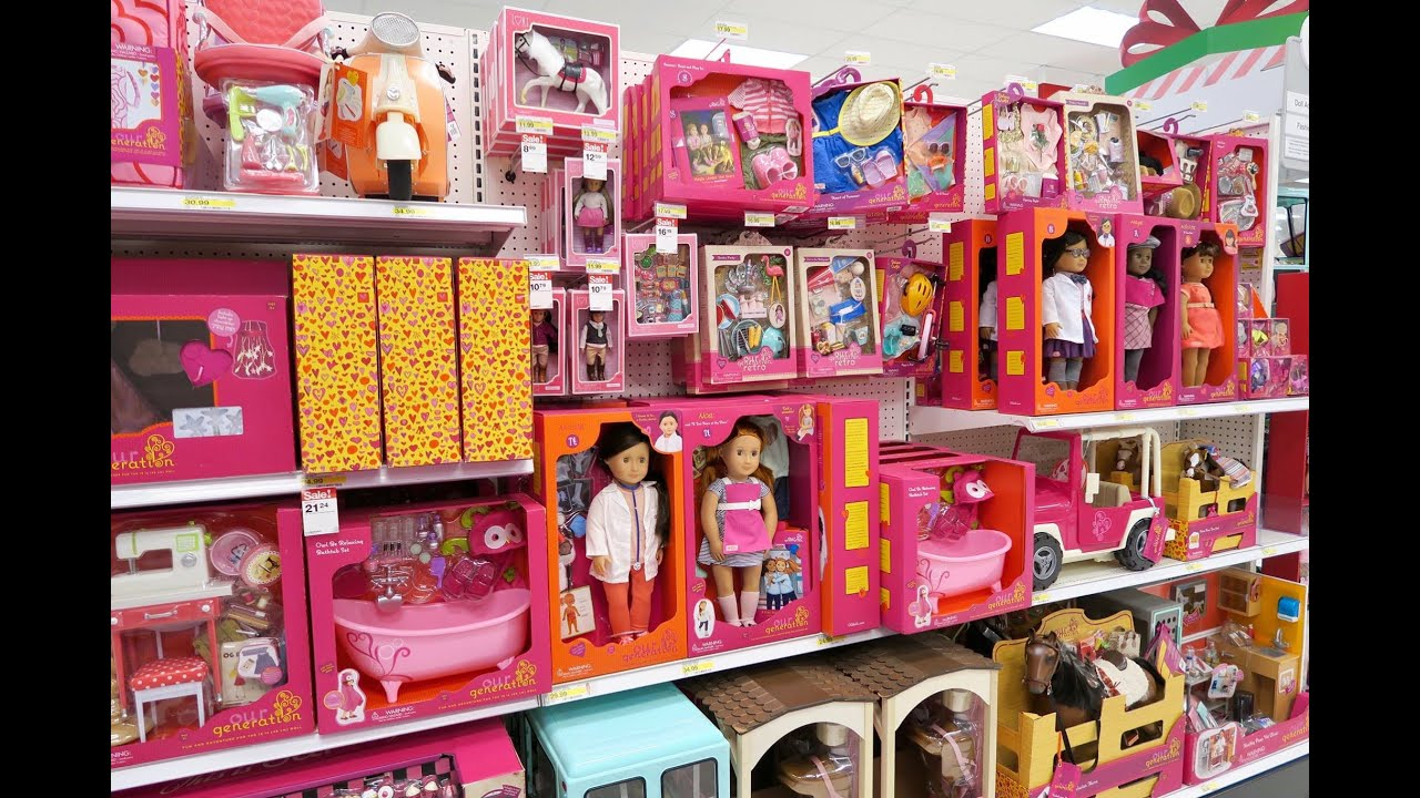 My Life Doll Clothes Section At Walmart Perfect For American Girl Youtube
