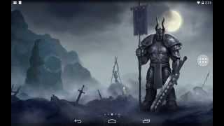 Moon Knight full version dark fantasy android live wallpaper by Anvilgard YouTube