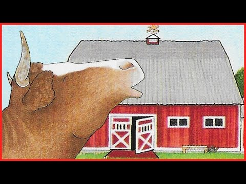 BIG RED BARN - KIDS BOOKS Read Aloud - Fun Family Activity with Books about Animals