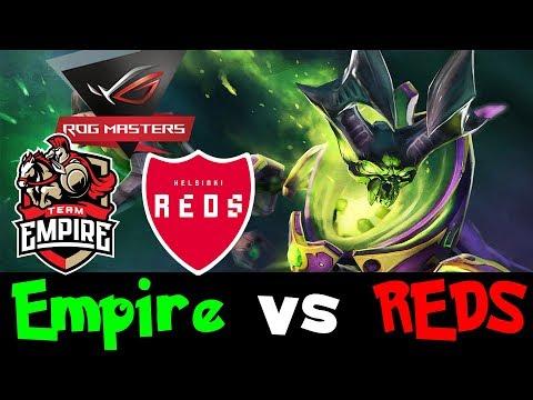 Team Empire vs Helsinki REDS Game1 - ROG MASTERS 2017 Dota 2