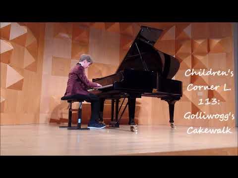Daniël Snaterse (12) deelname video Koninklijk Concertgebouw Concours 2018