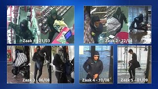 Amsterdam: Serie ramkraken en overvallen