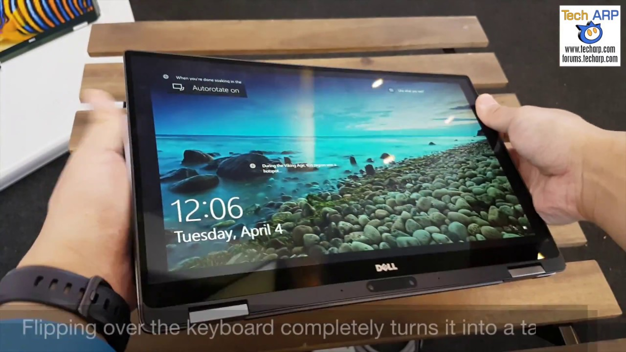 The Dell Xps 13 9365 2 In 1 Laptop Hands On Preview