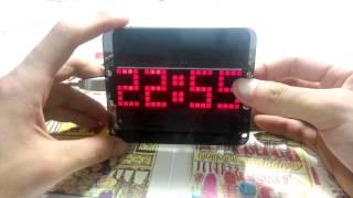 DS3231 Creative DIY Dot Matrix LED Clock