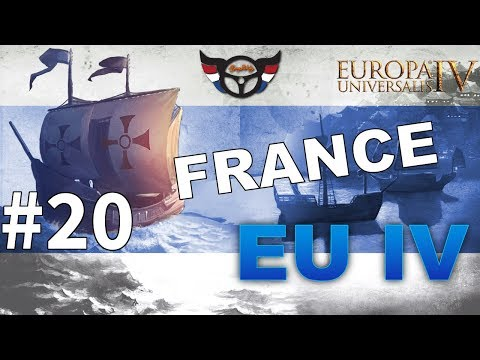EU4 France - Big Blue Blob Achievement Run - ep20