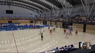 20180727男子ハンドボール 1回戦北陸福井県 対 学法石川福島県 サオリーナAコート