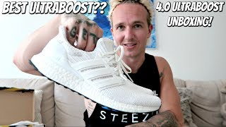 IS 4.0 ACTUALLY THE BEST ULTRABOOST EVER?? | TRIPLE WHITE UNBOXING AND ON FEET