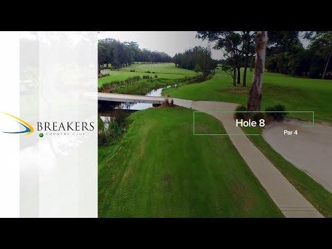 Breakers Country Club | Hole 8 | Fairway Flyovers