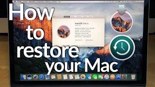 How to restore your Mac | Wie ihr euren Mac neu aufsetzt