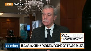 Market Is Taking Notice of Trade War Impact, Says Gutierrez