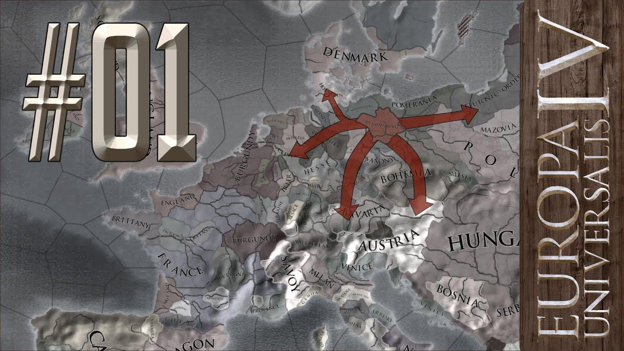 Brandenburg to Germany #01 - Europa Universalis IV - YouTube