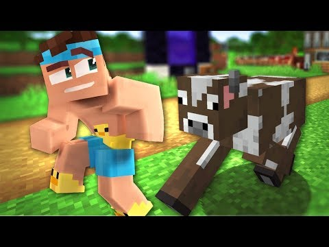 GRAND THEFT... FARM ANIMAL? - How To Minecraft