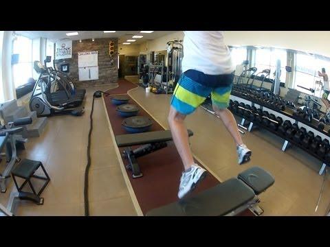 Snowboard Balance Agility Strength WORKOUT (GoPro Canada)