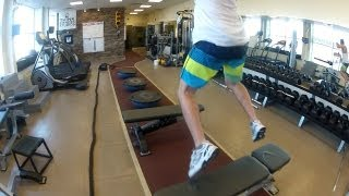 Snowboard Balance Agility Strength WORKOUT (GoPro Canada)