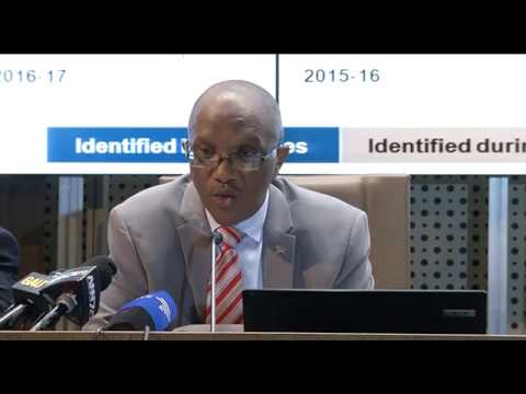 Auditor-General Kimi Makwetu releases country's National and Provincial Departments audit results