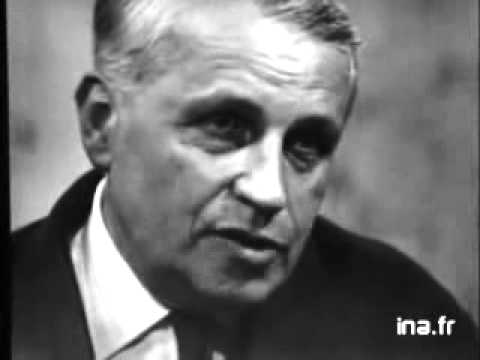 Georges Bataille Discusses 'Literature and Evil' on French Television
