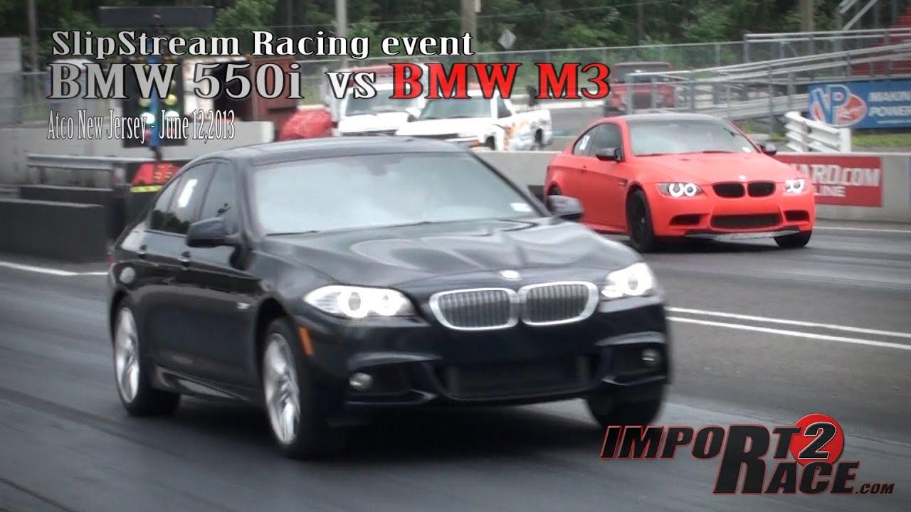 bmw m3 vs bmw f10 550i slipstream racing event youtube. Black Bedroom Furniture Sets. Home Design Ideas