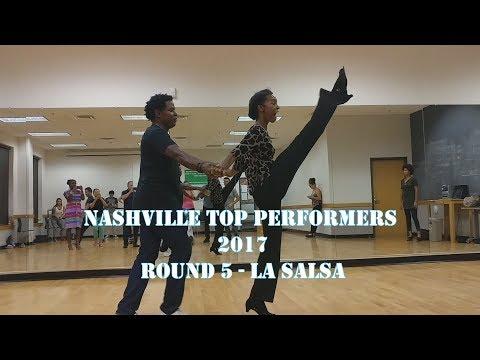 Nashville Top Performers 2017- Round 5 Choreo- LA Salsa