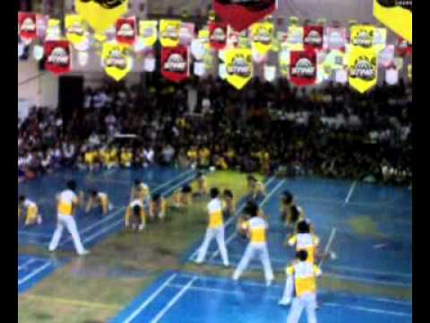 Cheerdancers... CBA university of la salette santiago isabela