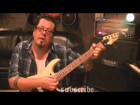 How to play Mr. Crowley by Ozzy Osbourne on guitar by Mike Gross