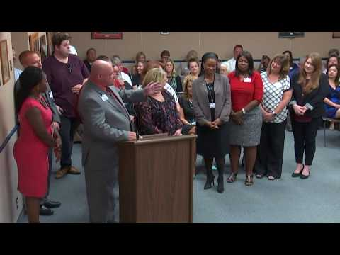 August 8, 2017 Marion County School Board meeting