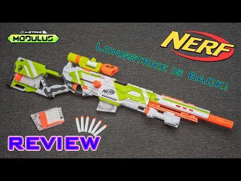 [REVIEW] Nerf Modulus Longstrike | LONGSTRIKE REBORN!!