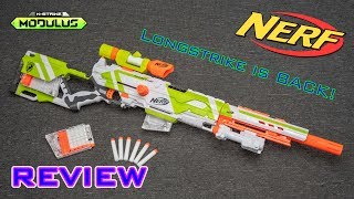 [REVIEW] Nerf Modulus Longstrike | LONGSTRIKE REBORN!!