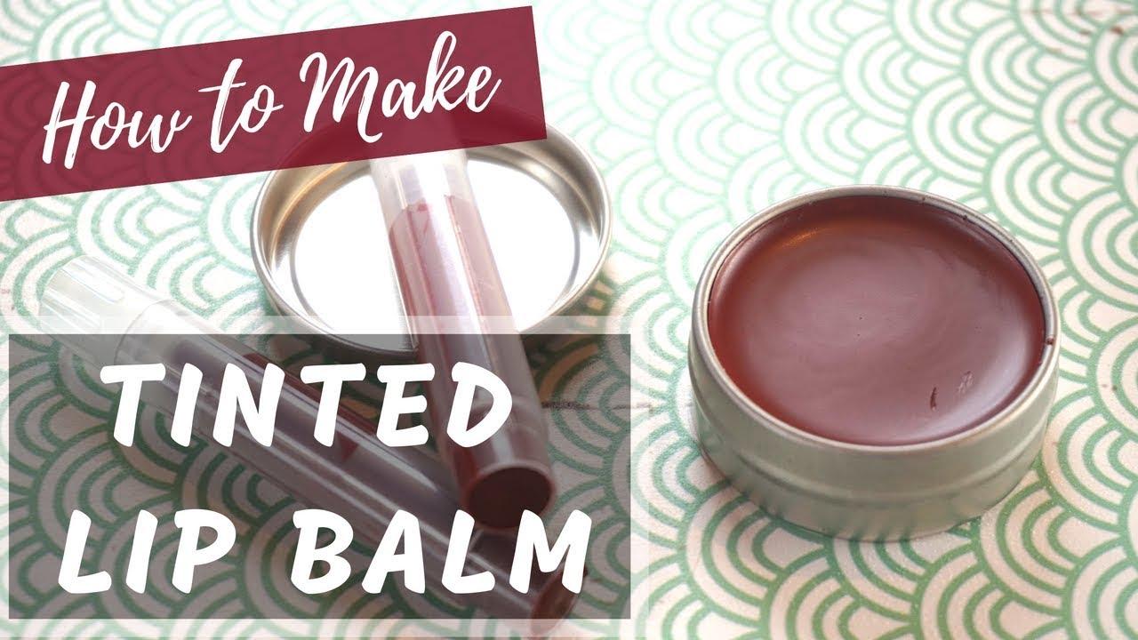 How to Make Tinted Lip Balm | DIY