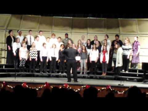 Moberly Middle School Choir Dec.4th 2014