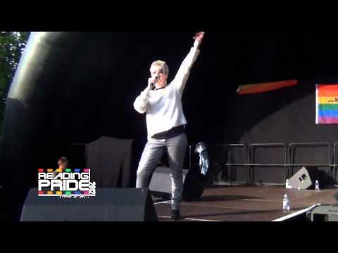Reading Pride 2012 - Hazell Dean
