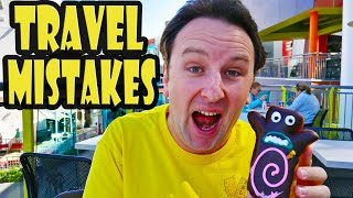 25 Worst TRAVEL MISTAKES and How to Avoid Them