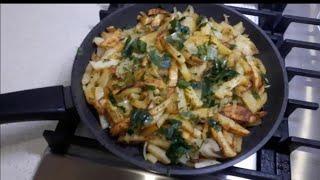 Как правильно жарить картошку Секрет приготовления вкусно жареного картофеля