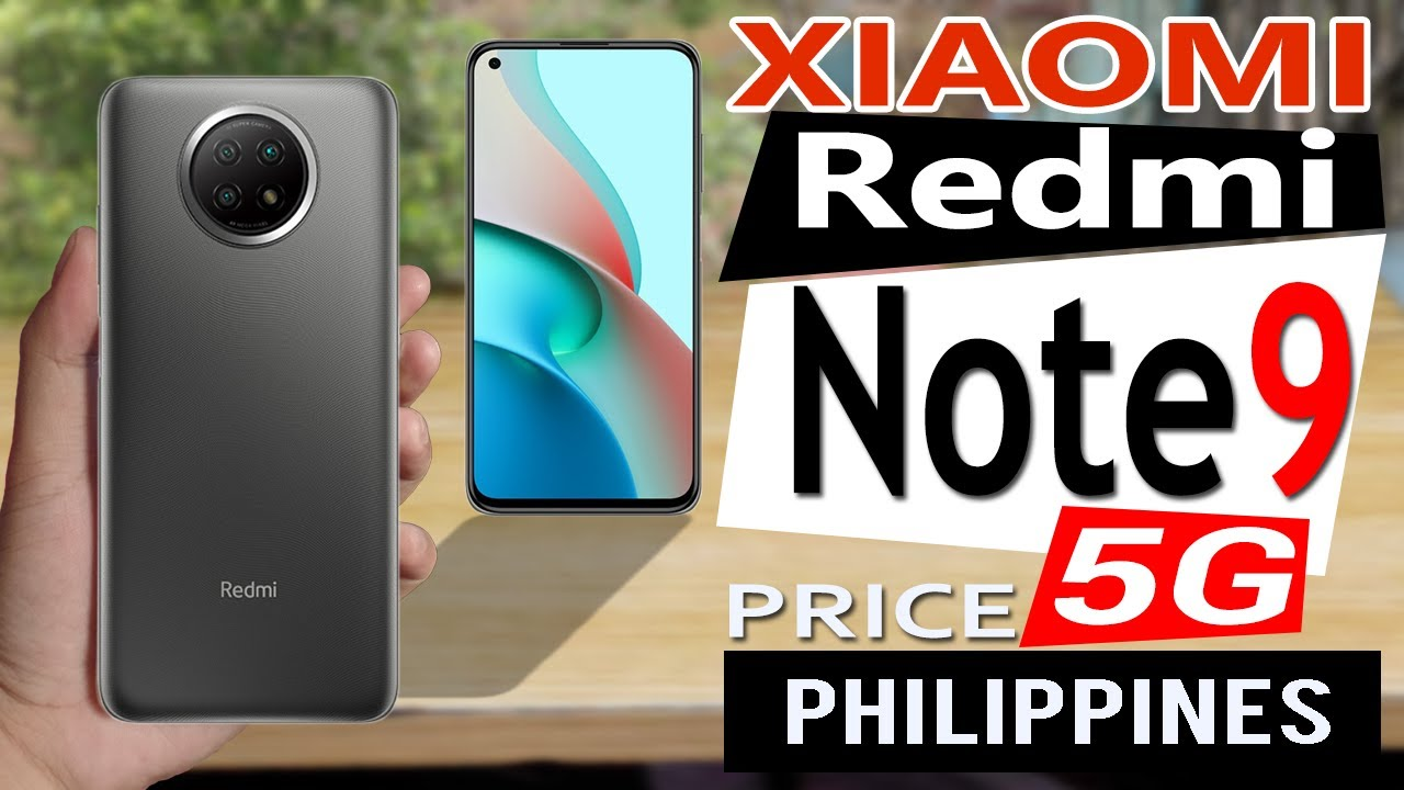 Xiaomi Redmi Note 9 5g Specs Features Price In Philippines Youtube