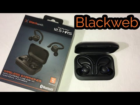 Blackweb Bluetooth Wireless Earphones - First Impressions & How To Pair!!!