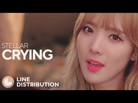 STELLAR - Crying (Line Distribution)