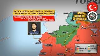 13 сентября 2018. Военная обстановка в Сирии. Турция задержала подозреваемого в теракте в Рейханли.
