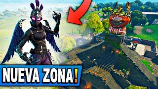 SKIN OF MOUNTAIN GIRL AND NEW ZONES *NEW MAP* FORTNITE: Battle Royale